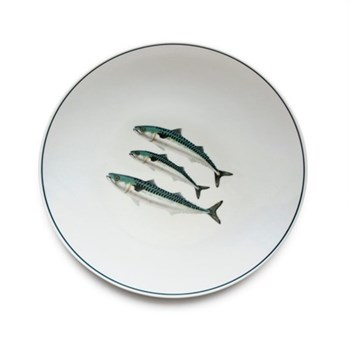 Seaflower Collection Dinner plate, 28cm, Mackerel
