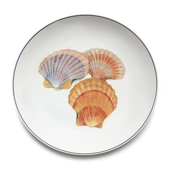 Seaflower Collection Charger plate, 32cm, Scallop