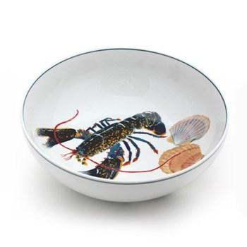 Seaflower Collection Serving bowl, 28cm, Blue Lobster