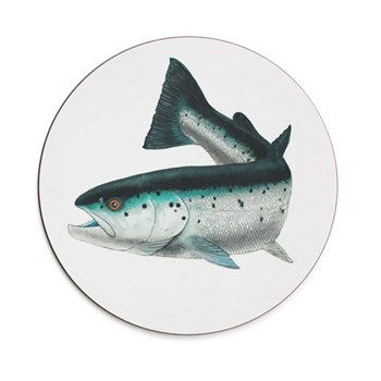 Seaflower Collection Tablemat, 28cm, Atlantic Salmon