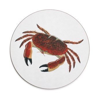 Seaflower Collection Tablemat, 28cm, Crab