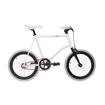 Mia Uni-sex bicycle, size 44, white