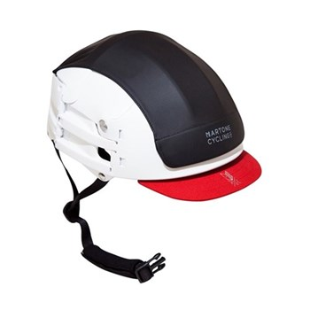 Uni-sex collapsible helmet, S/M, white