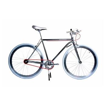 Regard Men's bicycle, size 52, silver chrome
