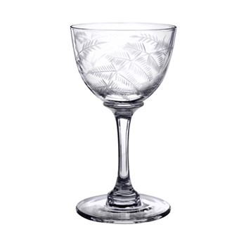 Fern Set of 6 liquer glasses, 80ml