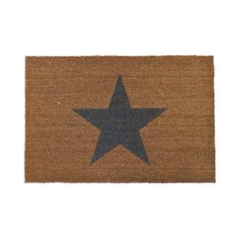 Star Doormat, W90 x D60cm
