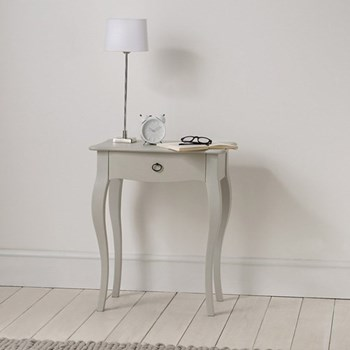Provence Side table, 70 x 59 x 40cm, grey