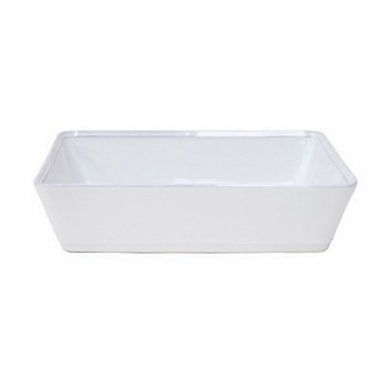Friso Rectangular baker, 30cm, white