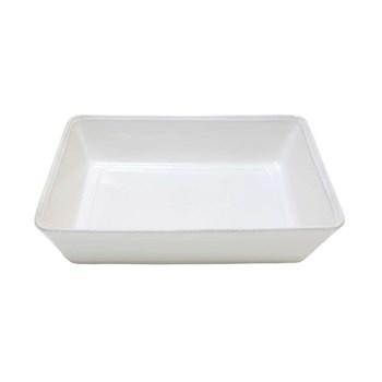Friso Rectangular baker, 35cm, white