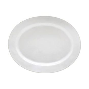 Astoria Oval platter, 40cm, white