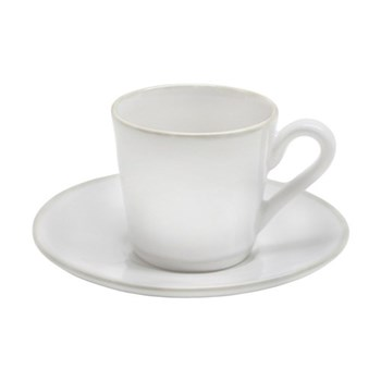Set of 6 coffee cups and saucers 8cl