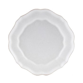Impressions Set of 6 salad plates, 23cm, white