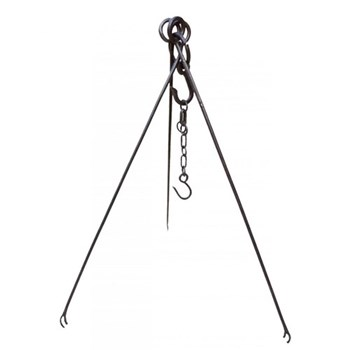Cooking tripod, W95 x H12 x D12cm, wrought iron
