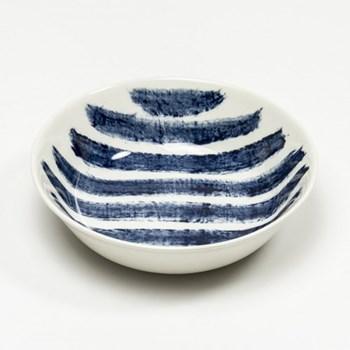 Indigo Rain by Faye Toogood Bowl, D19 x H4cm