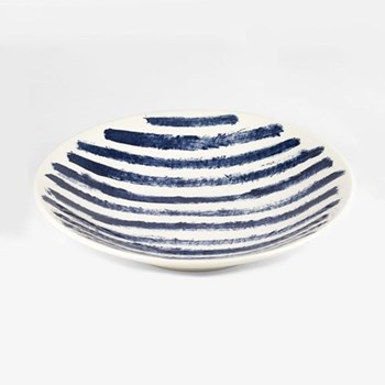 Indigo Rain by Faye Toogood Serving bowl, D36 x H6cm