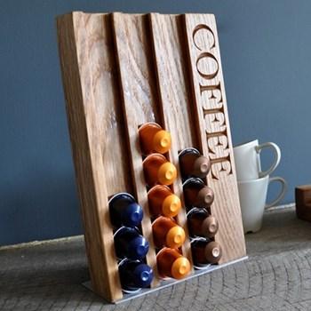 """Coffee"" Coffee pod rack, L27 x W18 x D3.5cm"