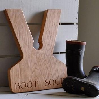 Bespoke engraved boot jacks