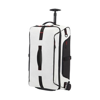 Paradiver light Duffle bag with wheels, cabin size, 55cm, white