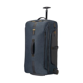Paradiver light Duffle bag with wheels, backpack, 55cm, jeans blue