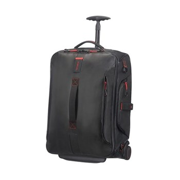Paradiver light Duffle bag with wheels, backpack, 55cm, black