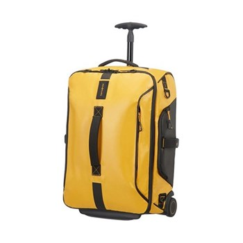 Paradiver light Duffle bag with wheels, backpack, 55cm, yellow