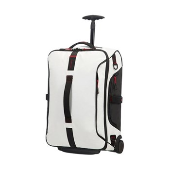 Paradiver light Duffle bag with wheels, backpack, 55cm, white