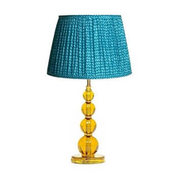 Aurora Table lamp - base only, H32 x W13cm, yellow