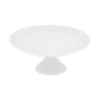Mar Footed cake plate, small