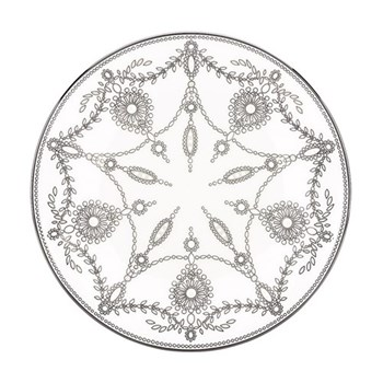 Empire Pearl Accent plate