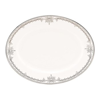 Empire Pearl Oval platter