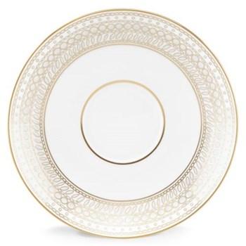 Gilded Pearl Tea saucer