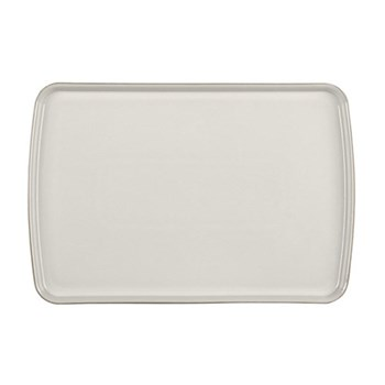 Natural Canvas Large rectangular platter, 39 x 26cm