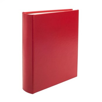 Chelsea Portrait photo album, 31.1 x 24.1cm, poppy leather