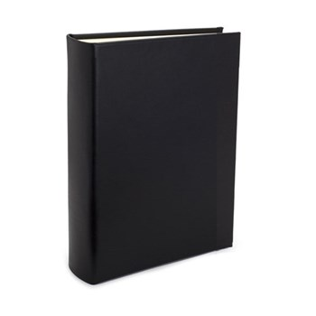 Chelsea Portrait photo album, 31.1 x 24.1cm, black leather