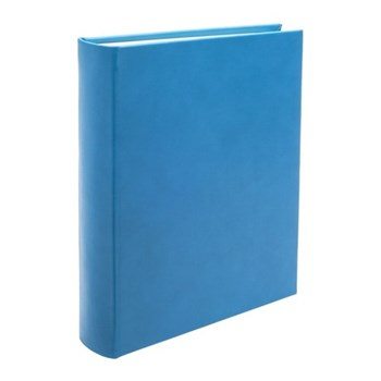 Chelsea Portrait photo album, 31.1 x 24.1cm, turquoise leather