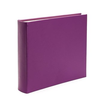 Chelsea Landscape photo album, 31 x 36.5cm, pansy leather