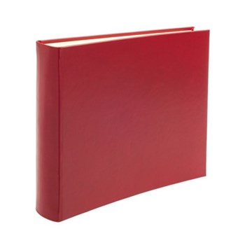 Chelsea Landscape photo album, 31 x 36.5cm, poppy leather