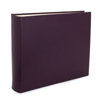 Chelsea Landscape photo album, 31 x 36.5cm, cyclamen leather