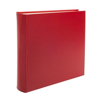 Chelsea Square photo album, 36.2 x 36.2cm, poppy leather