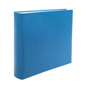 Chelsea Square photo album, 36.2 x 36.2cm, turquoise leather