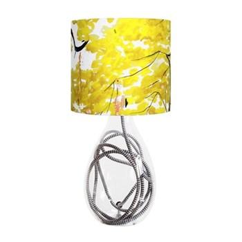 Chinese Tree Small lamp, H45cm, grey zig zag flex