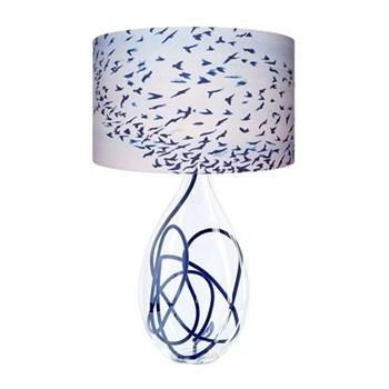 Murmuration Small lamp, H45cm, indigo flex