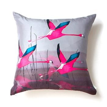 Breaking Dawn Square cushion, 45 x 45cm, silk