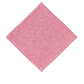 Feather stitch Set of 4 napkins, 54 x 54cm, pink sapphire