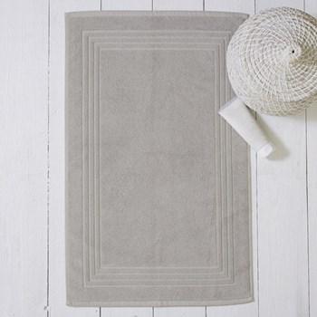 Egyptian Cotton Bath mat, 50 x 80cm, pearl grey