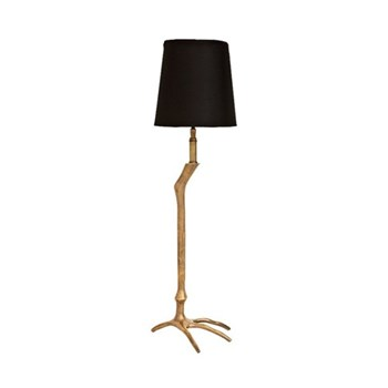 Table lamp and shade H71cm