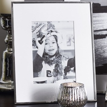 Fine Silver Photograph frame, 5 x 7""