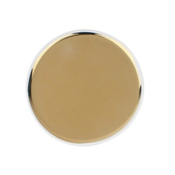 Dauville Charger, 30.5cm, gold glaze
