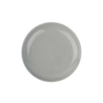 Shell Bisque Set of 4 small plates, 12.7cm, grey