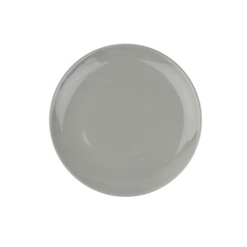 Shell Bisque Set of 4 side plates, 22cm, grey